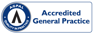 AGPAL - Accredited Symbol - General Practice (Custom)